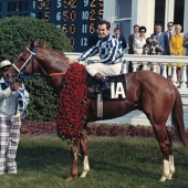 Ron Turcotte and Secretariat