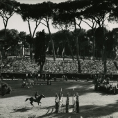 1960 Olympics equestrian events, Villa Borghese, Rome, Italy