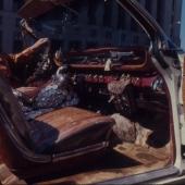 Webb Pierce in Cadillac, Nashville, TN, 1968