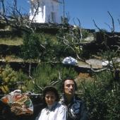 Salvador Dali and wife, Gala