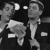 Dean Martin and Jerry Lewis, WNBT TV, NYC 1952