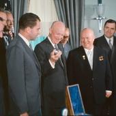 Eisenhower, Khrushchev, and Nixon